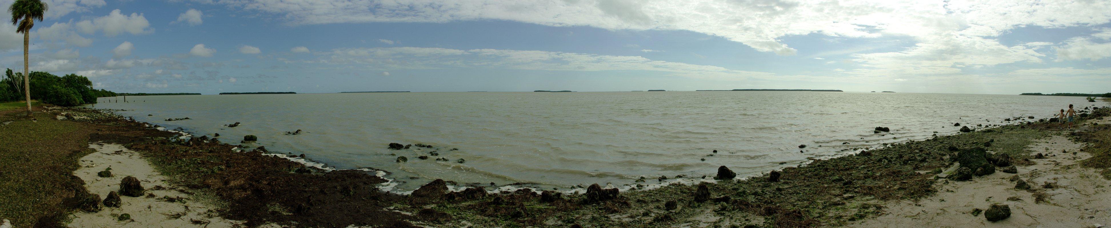 Florida Bay panorama Bay